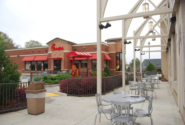 Chick-Fil-A & Cumberland Presbyterian Church, Union Ave. Memphis TN